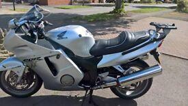 Honda blackbird excellent 51plate or exchange for bike as described