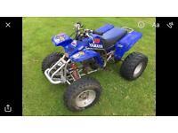 Yamaha blaster quad