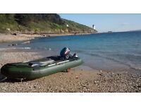 Inflatable Boat, 2 stroke outboard yamaha 20hp, RIB, SIB, Dinghy, fishing