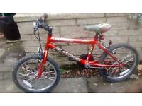 "Childs bike - universal platoon 18"" boys mountain bike"