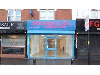Ground floor retail shop premise on a busy shopping parade on Stratford Road