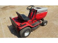Ride on MTD Lawnflite mower,Model 548,12HP-30inch cut,Petrol.Grass collection hopper included .