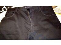 Mens Next jeans 34R black