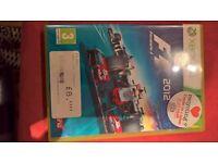 Xbox 360 Formula 1, 2012 Game