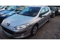 Peugeot 407 Estate 1.6cc Diesel with Sunroof @ £950