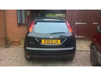BARGAIN FORD FOCUS 1.4 5DR LOW MILEAGE GOOD CONDITION