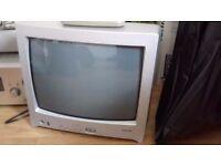 Portable Colour TV with remote