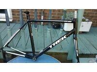 bike frame Trek 1.5 Carbon Forks 58cm Great 1st frame