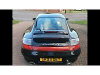 Porsche 911 Carrera 4S (wide body) A1 condition FPSH 2003 Black