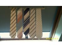 Brand New Silk Ties Of Various widths. Over 200 to choose from