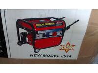 kraftech petrol generator KT6-500 new unused