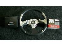 NRG QUICK RELEASE WITH STEERING WHEEL SNAP OF TOYOTA HONDA MX5 JAP