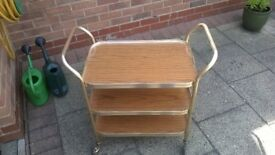 Hostess/drinks trolley
