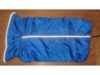 Blue Warm Lined Waterproof Dog Jacket