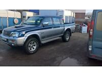 Mitsubishi L200 Animal, Great condition, leather seats, low milage for age, 9 months mot