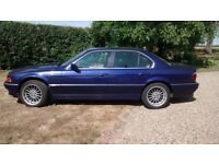 Stunning BMW E38 Individual Extremely RARE Velvet Blue Metallic