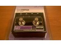 ARTcessories CoolSWITCH A/B-Y Footswitch - boxed and in as-new condition!