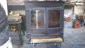 Woodburner / Multi fuel. Charnwood Island 3B (boiler stove)