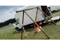Brand new little tikes swing&rope ladder set