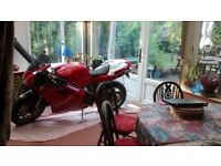 1997 DUCATI 916 FOR SALE WITH MANY EXTRAS.