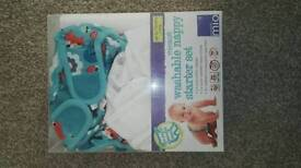 Washable nappy set