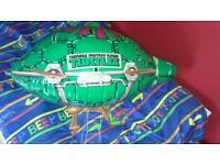 Teenage mutant ninja turtle blimp