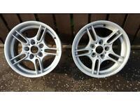 Bmw 17 inch motorsport alloy wheels