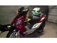 sym jet sport x50 2t. scooter for sale.