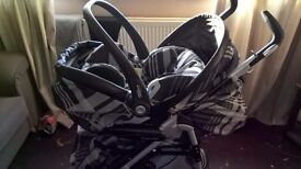 Mamas n Papa's pushchair and carseat-reduced