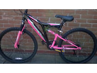 Silverfox ladies mountain bike
