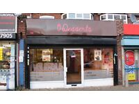 SHOP TO LET IN A BUSY PARADE ON THE BORDESLEY GREEN ROAD - LOW RENT