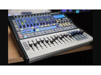 Presonus 1602 studio live interface