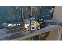 """ryobi 14"""" chainsaw"""