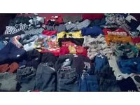 huge bundle of boys clothes