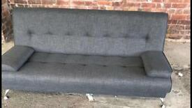 🔥🔥grey sofa bed new new new 🔥🔥