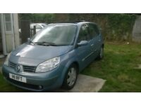 renault scenic 1.9 dci 130bhp 2006 with private plate done 109,000 miles