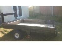 Large versatile trailer: 8 ft by 4 ft