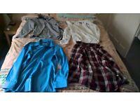 Joblot of mens dress shirts, T shirts and jumpers (Peter England Cedarwood State Next etc)