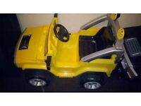 humna kids ride on jeep with remote control