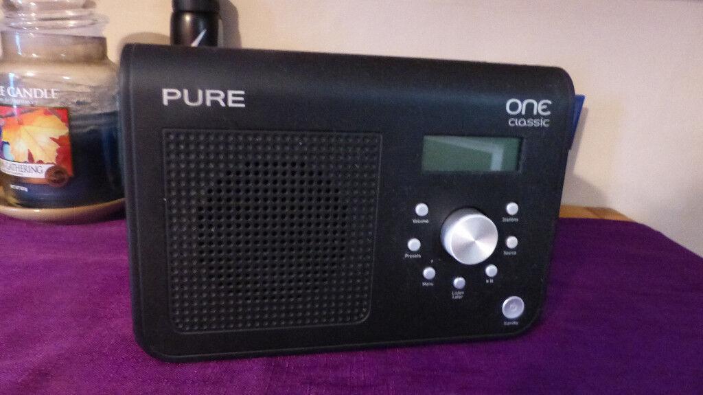 DAB Radio with rewind