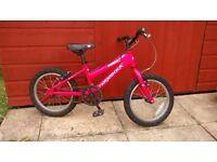"""Girls 16"""" Wheel Bicycle"""