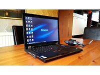 HIGH END BUSINESS FAST LENOVO 2537 i5 THINK PAD LAPTOP + OFFICE 2013 + 10 MONTHS OLD + ACESSORIES