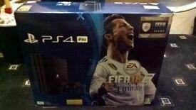 PS4 PRO 1TB VERSION Brand New