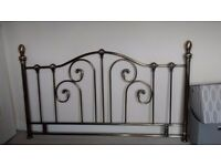 Headboard for double bed.
