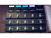 Line 6 M13 Stomp Box Modeller - As New with Latest Firmware