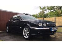 Jaguar x-type low mileage