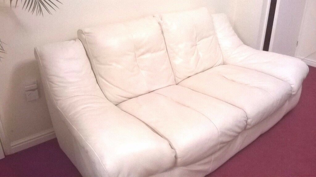 2 and 3 Seater Eco Leather Suite