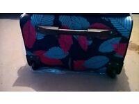 New suitcase.