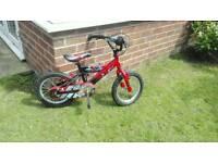 """Boys 14"""" Power Rangers Bike"""