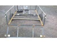 NEW CAR TRAILER JUST BUILT 6FT X4 FT 750 KG CARRYING has fold down back door